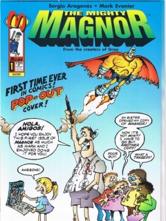 The Mighty Magnor #1 • USA