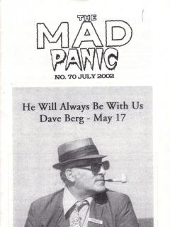 Go to The MAD Panic #70 • USA