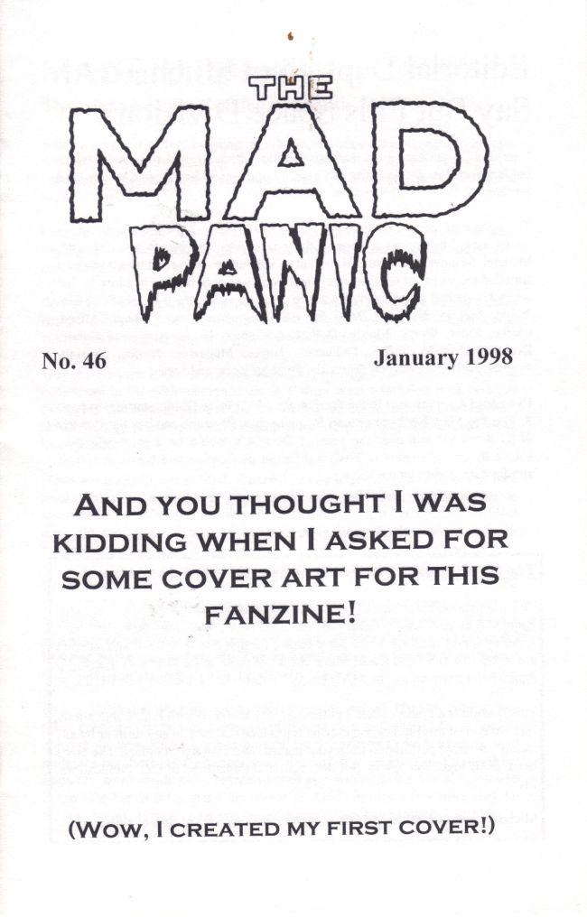 The MAD Panic #46 • USA