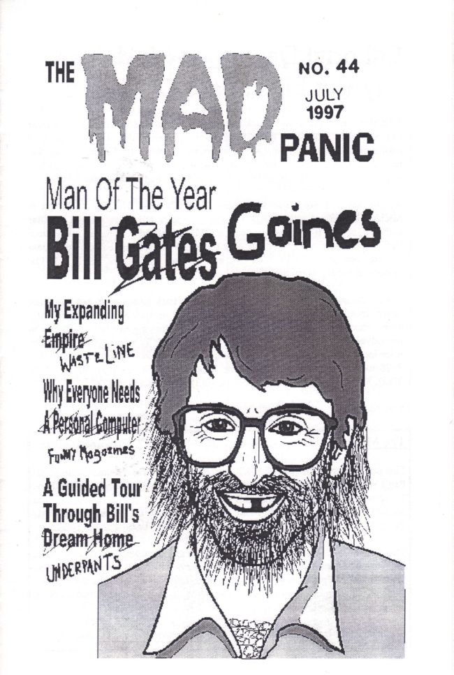 The MAD Panic #44 • USA