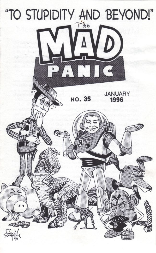 The MAD Panic #35 • USA