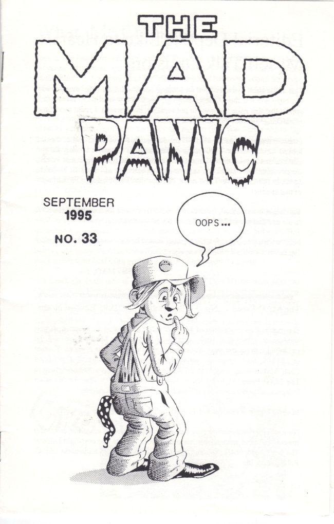 The MAD Panic #33 • USA
