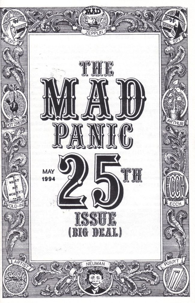 The MAD Panic #25 • USA