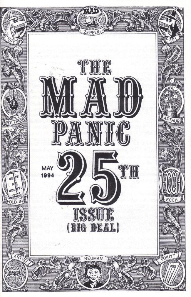 The MAD Panic #25 • USA