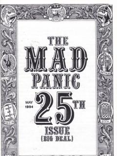 Go to The MAD Panic #25 • USA