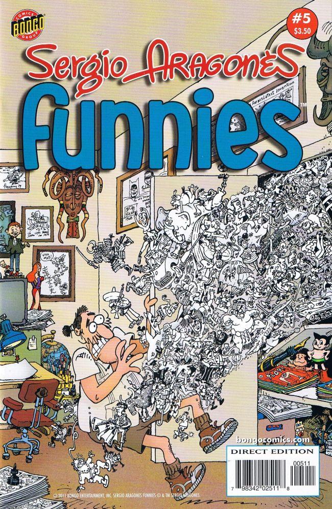 Sergio Aragonés Funnies #5 • USA