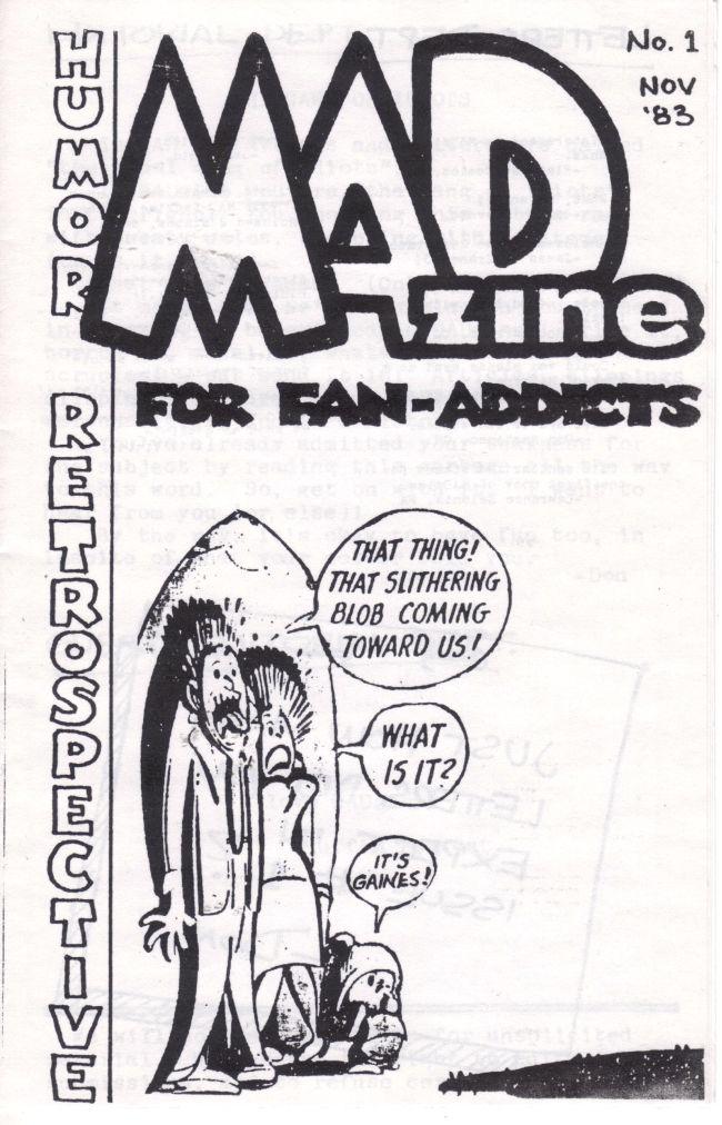 Fanzine: MADzine • USA