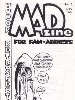 Go to MADzine #1 • USA