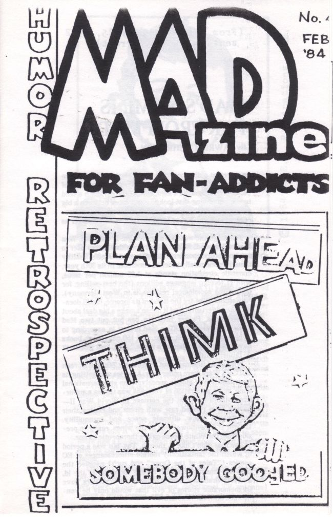 MADzine #4 • USA