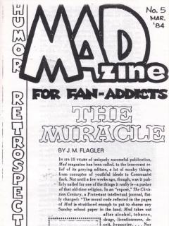 Go to MADzine #5 • USA