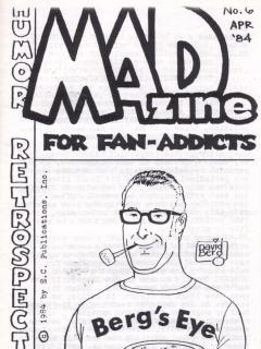Go to MADzine #6 • USA