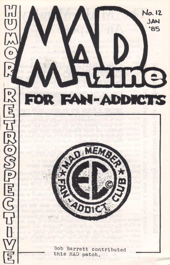 MADzine #12 • USA