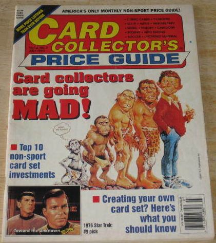 Card Collector's Price Guide • USA