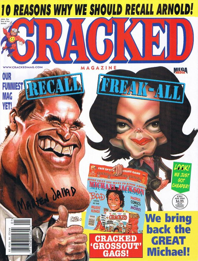 Cracked #362 • USA