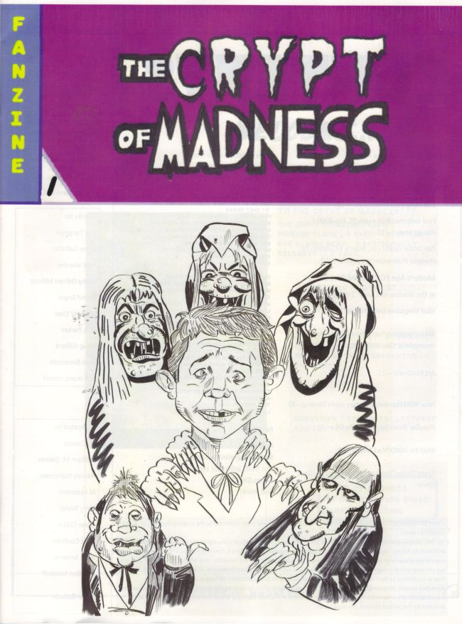 The Crypt of Madness #1 • USA