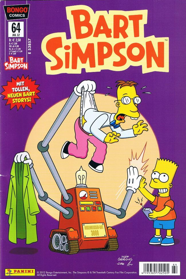 Bart Simpson #64 • Germany