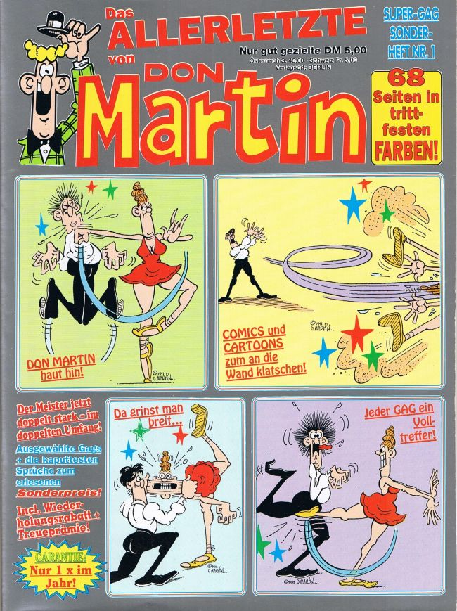 Don Martin Super-GAG Sonderheft #1 • Germany