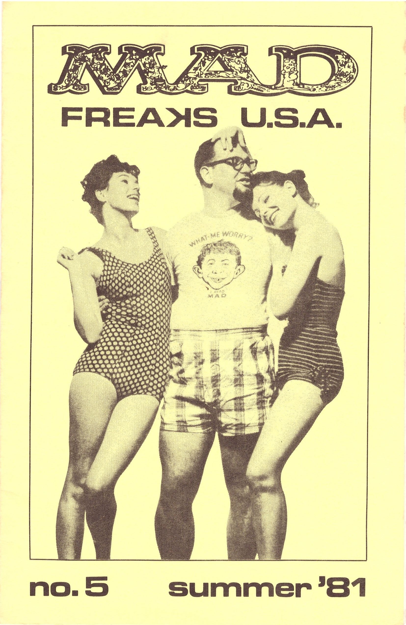 MAD Freaks U.S.A. #5 • USA