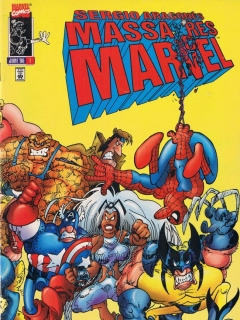 Sergio Aragones Massacres Marvel #1 • USA