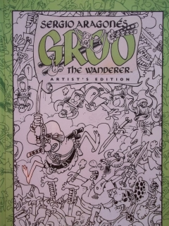 Go to Sergio Aragones Groo The Wanderer Artist's Edition • USA