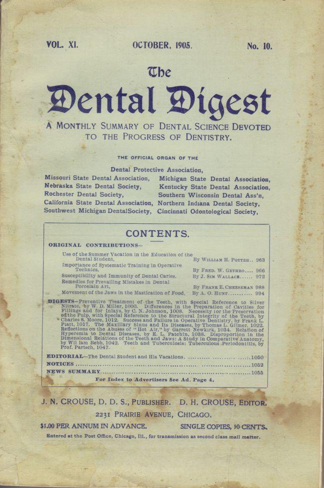 The Dental Digest #10 • USA