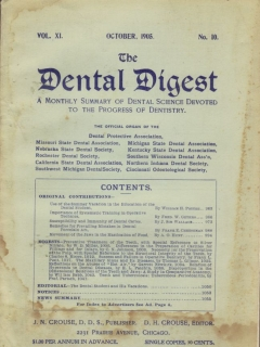 Go to The Dental Digest #10 • USA