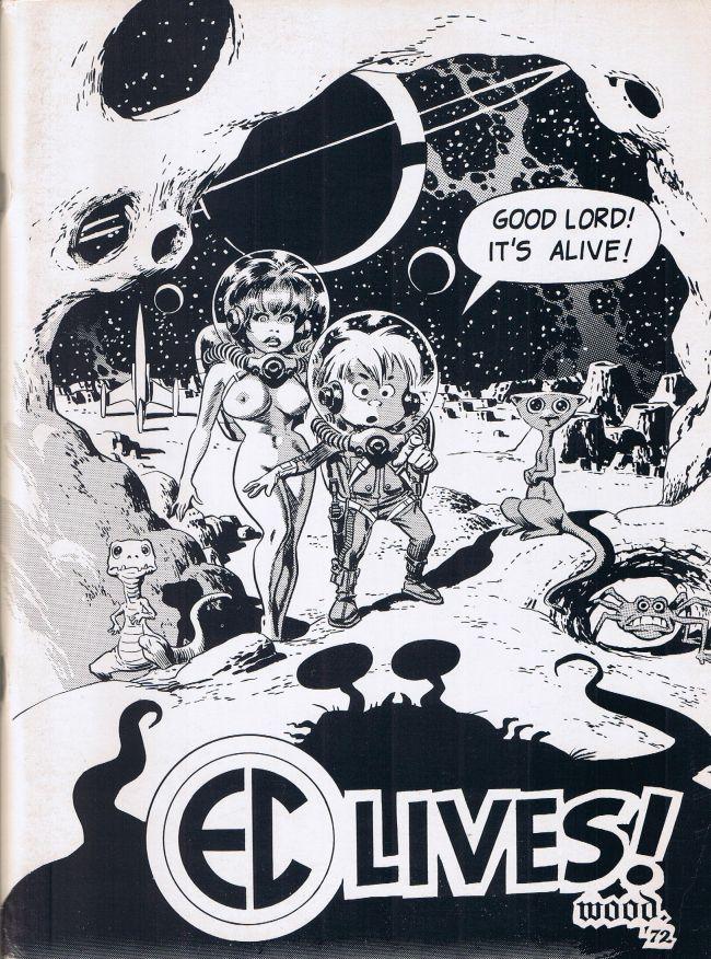 EC Lives! 1972 EC Fan-Addict Convention Book • USA