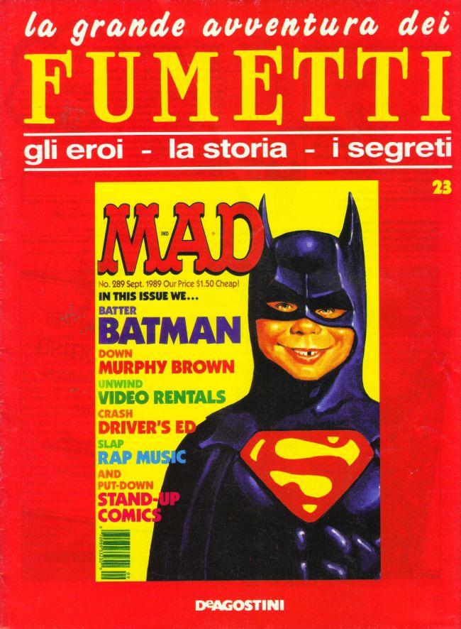 le grande avventura dei Fumetti #23 • Italy
