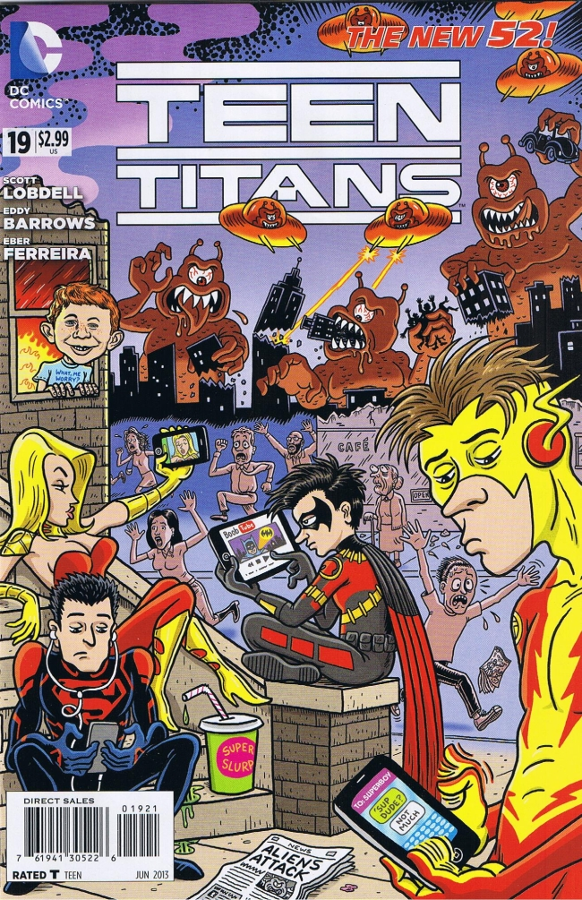 Teen Titans #19 • USA