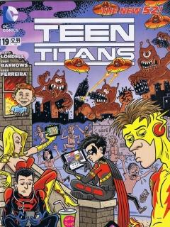 Go to Teen Titans #19