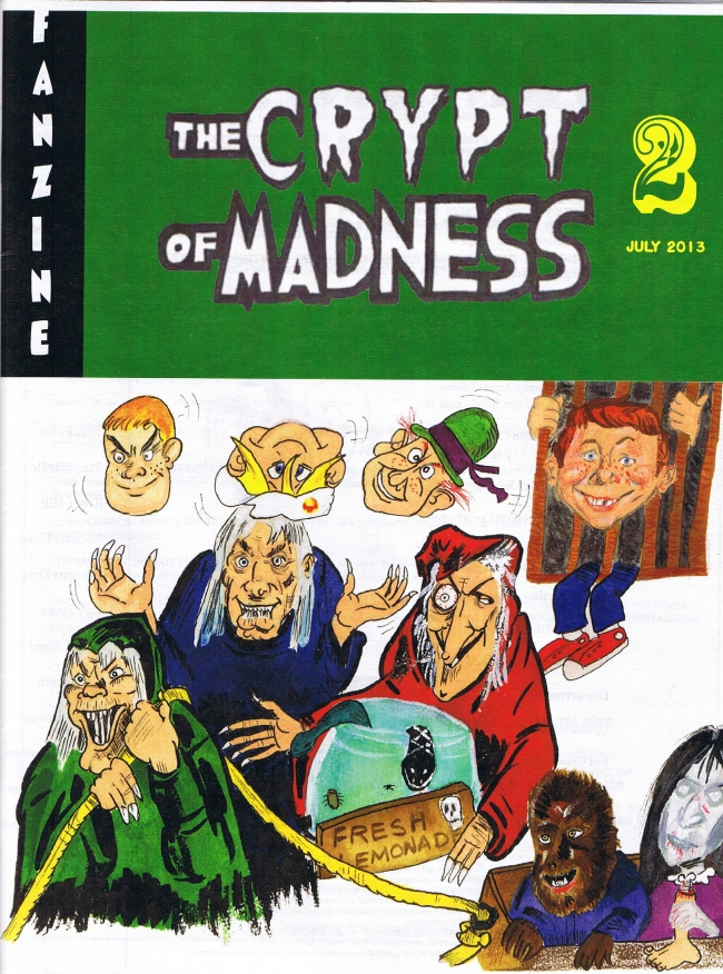 The Crypt of Madness #2 • USA