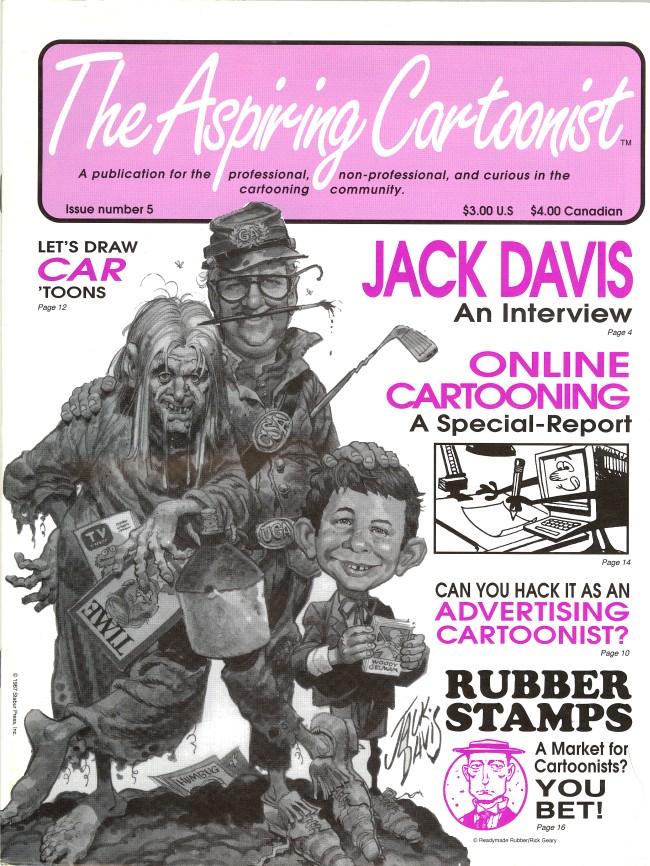 The Aspiring Cartoonist #5 • USA