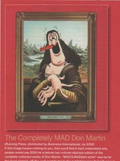 Don Martin Book promo