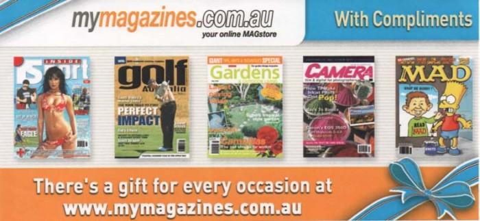 Magazine Promo Ad featuring MAD Magazine • Australia
