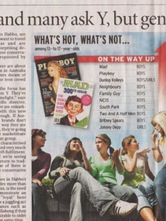 The Sydney Morning Herald MAD article • Australia