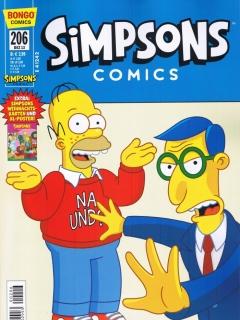 Simpsons Comics #206 • Germany