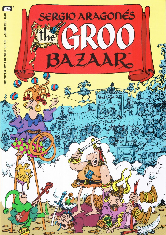 The Groo Bazaar #1 • USA