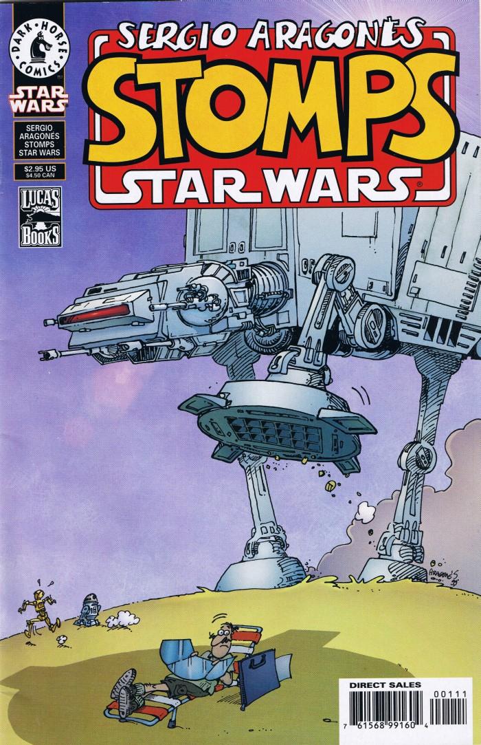 Sergio Aragones stomps Star Wars • USA