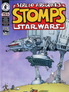 Sergio Aragones stomps Star Wars • USA
