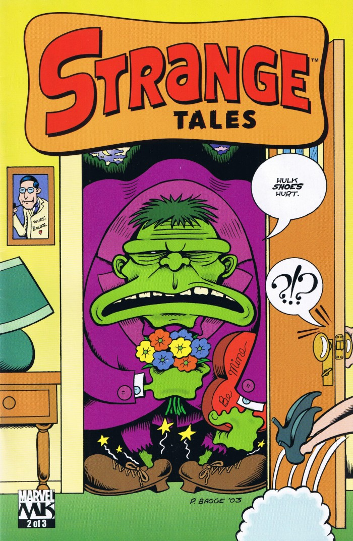 Side Projects by Peter Bagge • USA
