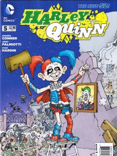 Go to Harley Quinn #5 • USA