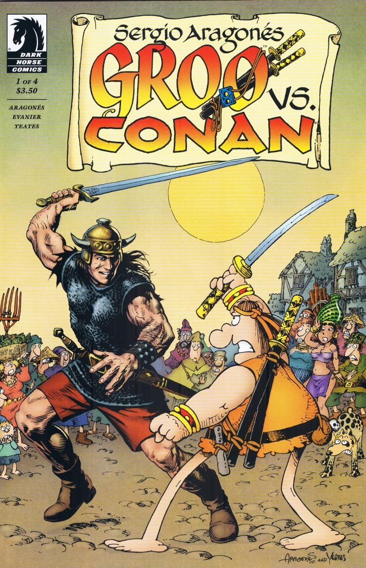 Groo vs Conan #1 • USA