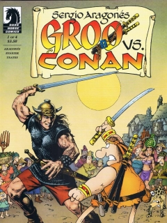 Go to Groo vs Conan #1