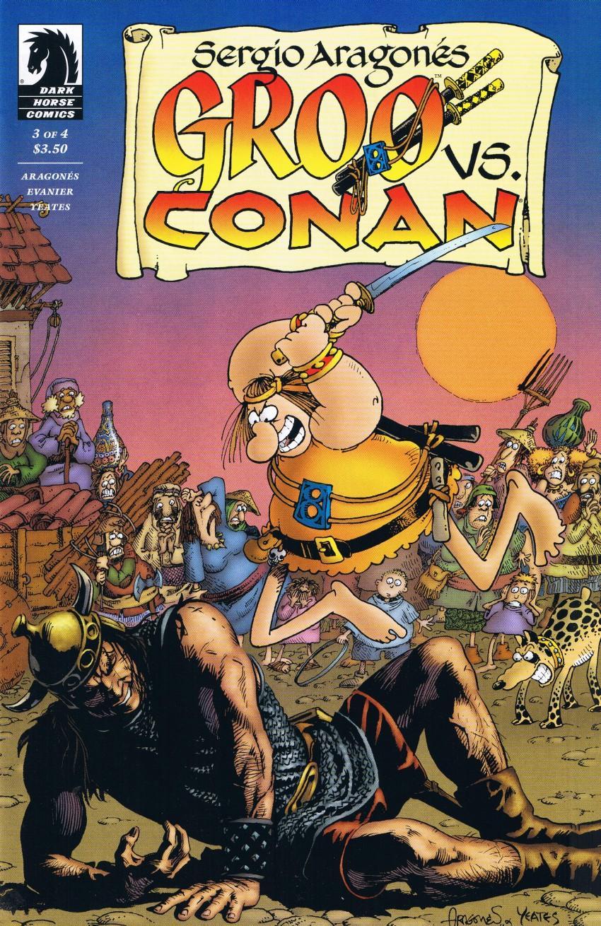 Groo vs Conan #3 • USA