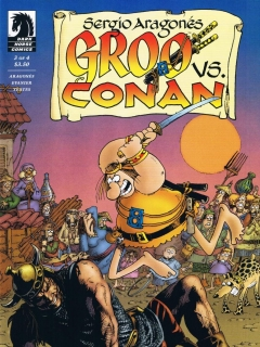 Go to Groo vs Conan #3