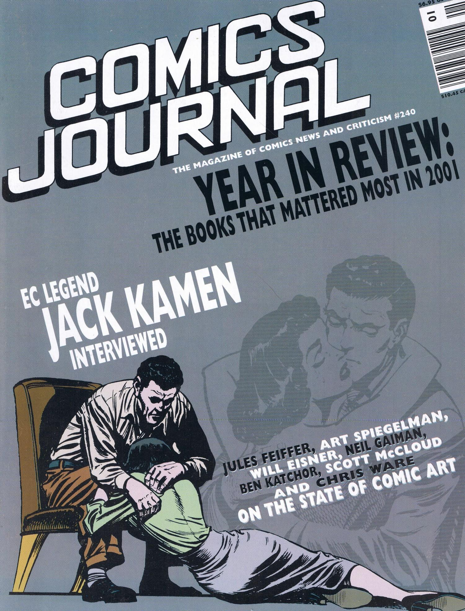 The Comics Journal #240 • USA