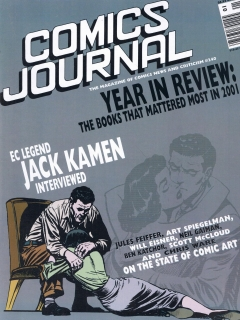 Go to The Comics Journal #240