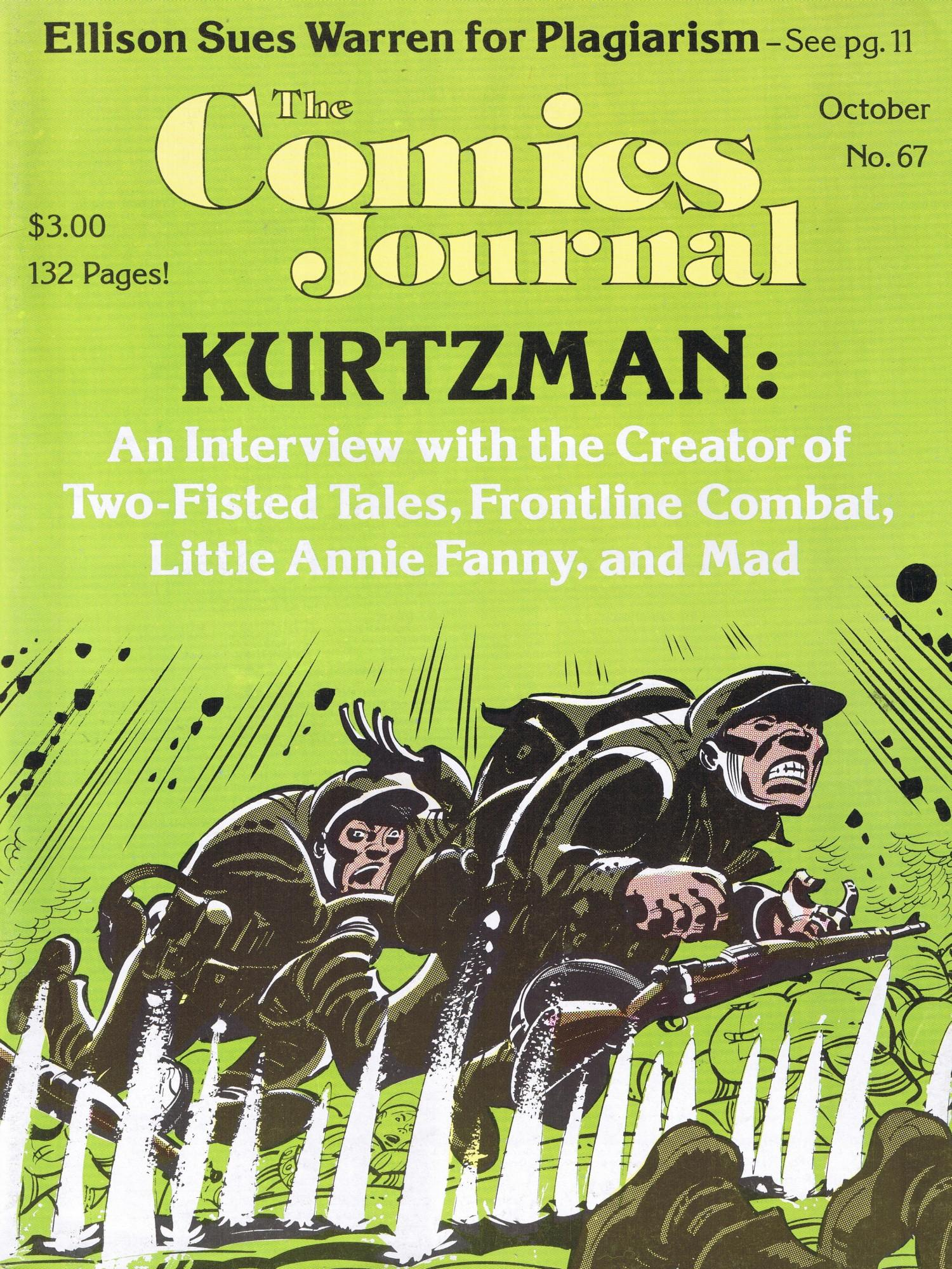 The Comics Journal #67 • USA