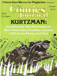 Go to The Comics Journal #67