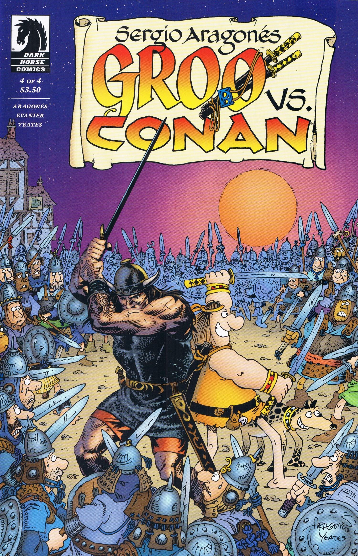 Groo vs Conan #4 • USA